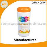 40 chiffons antibactériens de nettoyage de main de parfum frais de PCS