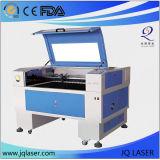 Máquina de madera del laser del grabado de la piedra del cuero del vidrio de acrílico de calidad superior