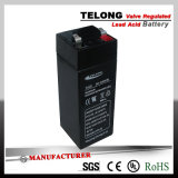 Weighing Scaleのための4V3.5ah Rechargeable Power Battery