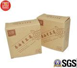 Caixa barato personalizada da barra do sabão do papel de embalagem de Brown da cópia do logotipo de Recyle