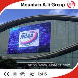 Visualización de suelo del LED, colocándose publicitaria del panel del LED, P16 al aire libre