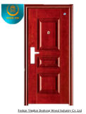 Morden Style Steel Door Forexterior Without Carving (GS-8095)
