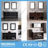 De nieuwe Ijdelheid van de Badkamers van het Ontwerp Eiken met 2 ZijKabinetten en Kabinet van de Spiegel (BV187W)