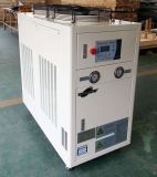 Refrigerador de água no refrigerador industrial para o empacotamento de leite