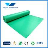 3mm 합판 제품 마루청을 깔기를 위한 녹색 EVA 거품 밑받침