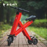 전기 3개의 바퀴 소형 X Foldable 스쿠터
