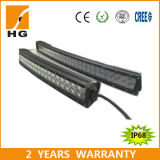 Offroadのための52inch Double Rowのクリー語IP68 300W Curved LED Light Bar