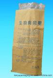 Saco tecido PP do produto comestível com logotipo da impressão da película de BOPP