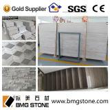 Китайское White Serpeggiante (зерно) guizhou деревянное Marble для Tile/Slab