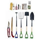 Новые продукты утюживут деревянный лопаткоулавливатель инструмента сада ручки