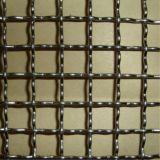 Engranzamento de fio frisado de tecelagem do aço inoxidável