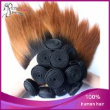 1b/27# 2tone 100%年のVirgin Remy Human Hair Weaves Bundle Stright