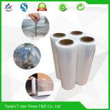 De transparante Plastic Krimpfolie van de Film van de Omslag van de Rek LLDPE voor de Verpakking van de Lading