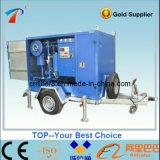 Tipo incluido móvel sistema da regeneração do óleo isolante do petróleo do transformador (ZYM)