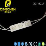 Inyección de DC12V SMD5050 Chip de Samsung Módulo LED de 160 grados