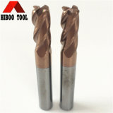 Metal를 위한 HRC55 Carbide Corner Raudis End Mill