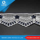 Lemo New 2016 Design Cotton Lace für Summer Colthing