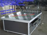 Grande stampatrice manuale dello schermo di Tam-1224D per vetro