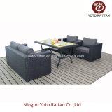 Tabella Sofa Set in Black per Outdoor (1307)