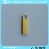 2016 de nieuwe Stok van Keychain USB van het Ontwerp Gouden (ZYF1711)