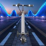 8 pulgadas marco de aleación de aluminio mini bicicleta plegable eléctrica