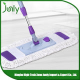 Mop пыли плоского влажного хлопка стационара мега вращая
