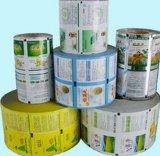Einfacher Entwurfs-Milchprodukt-Großhandelsplastikfilm Rolls, OPP Rolle