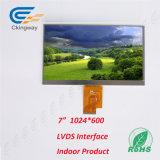 7 Farbe LCD-Bildschirmanzeige des Zoll-Beschriftungsbereich-154.2X85.9mm