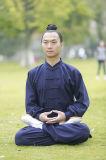 Hommes de toile épais de Chi Long-Sleeved à haute teneur de Wudang Tai de Taoism uniformes