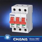 Commutateur électrique d'isolement de l'isolant 2p 80A de commutateur