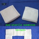 Estoque sem fiapos não tecido Non-Sterile/estéril descartável Kxt-Ns15 das esponjas abdominais