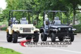 2016 nuevo tamaño adulto Jeep mini Willys Disponible en 150cc y 200cc motor Gy6