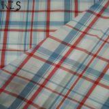 ワイシャツまたは服Rls40-47poのための100%年の綿ポプリンの編まれたヤーンによって染められるファブリック
