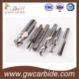 Покрытие HRC60 Altin каннелюр резца 4 торцевой фрезы карбида плоское