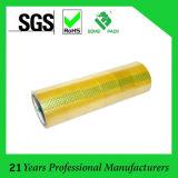 Nastro adesivo acrilico a base d'acqua libero/giallastro trasparente di BOPP