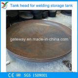まっすぐな端のないステンレス鋼の皿ヘッド