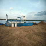Польностью гидровлический земснаряд песка всасывания резца 12 дюймов