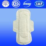 Serviettes hygiéniques d'anion pour les garnitures sanitaires de femmes pour l'hygiène de Femine avec du PE sec (A140)