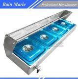 Strumentazione Bain elettrico Marie Rtc-4h del ristorante