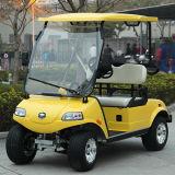 Basisdie Kar 2 van het Golf het Voertuig van het Nut Seater in de Cursus van het Golf wordt gebruikt