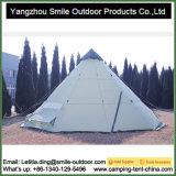 Tipi de viagem de acampamento da barraca do Tepee do jardim ao ar livre de 10 pessoas