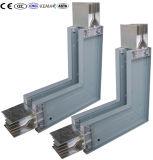 Sistema de trunking de barras de cobre estofado de baixa voltagem para distribuição de energia