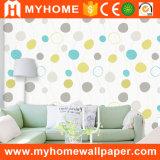 Papier peint non-tissé de luxe de décoration à la maison moderne