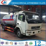 Dongfeng 6の車輪5cbm LPGの道タンクトラック
