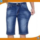 Джинсовая ткань Mens тавра замыкает накоротко кальсоны простирания краткости голубого Jean короткие