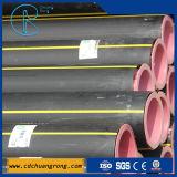 PE100와 PE80 물 또는 가스 검정 많은 관