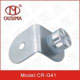 Roestvrij staal 90 Degree Glass Clamp met Single Knob (Cr-G41)