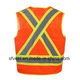 Classe reflexiva 2 CSA da veste da segurança do Workwear elevado da visibilidade
