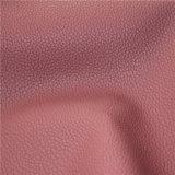 Hochleistungs- Lichee Muster Microfiber Lederimitat 2016