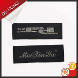 Direktes Factory kein MOQ Ende Fold Neck Woven Labels für Clothing